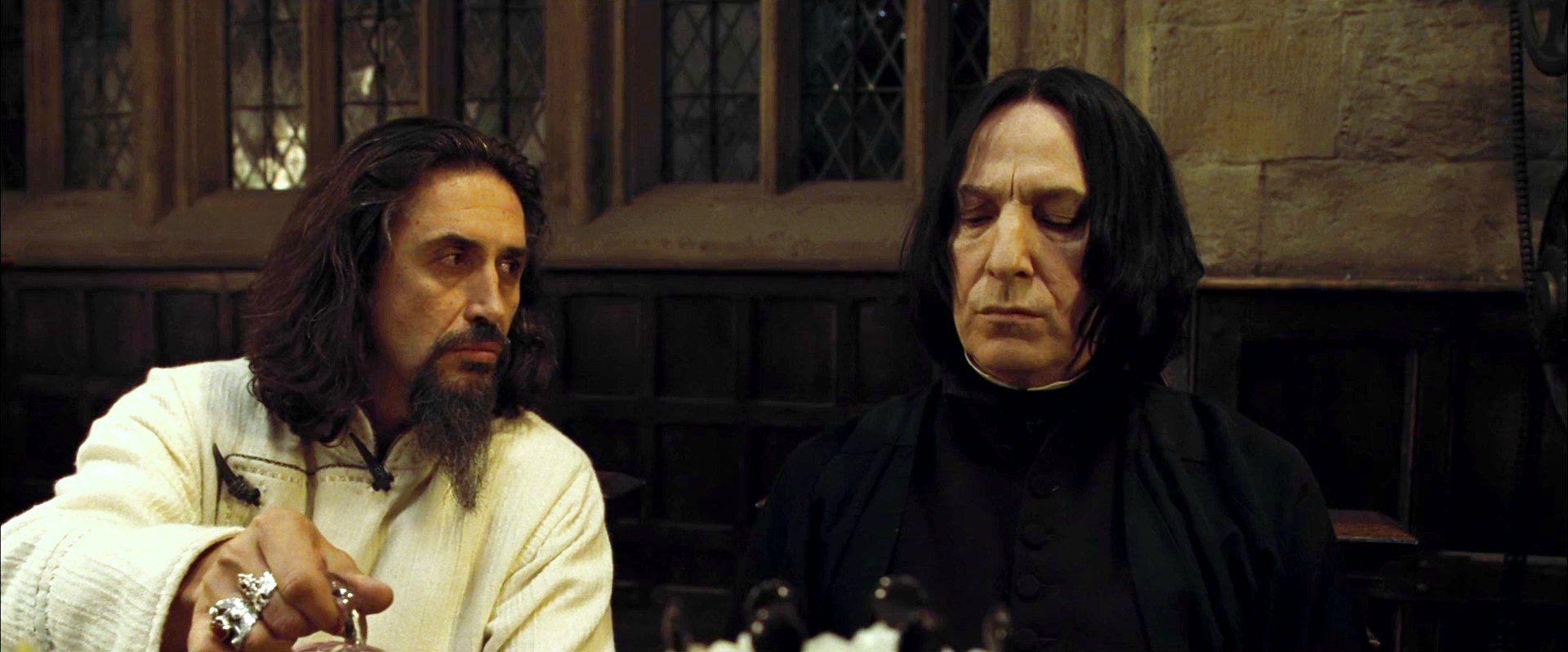 Severus Snape And Igor Karkaroff Severus Snape Harry Potter Severus Snape Snape