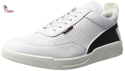 Tommy Hilfiger T2385yke 1a, Sneakers Basses Homme, Blanc