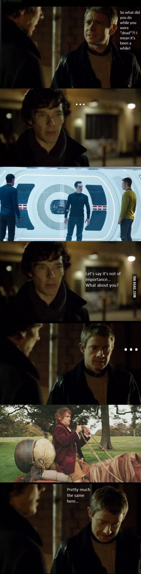 After Sherlock returned