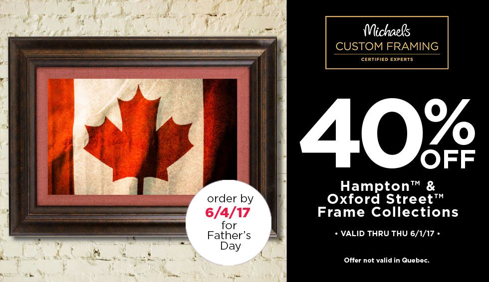 40% Off Hampton & Oxford Street Frame Collection | Save Coupons ...