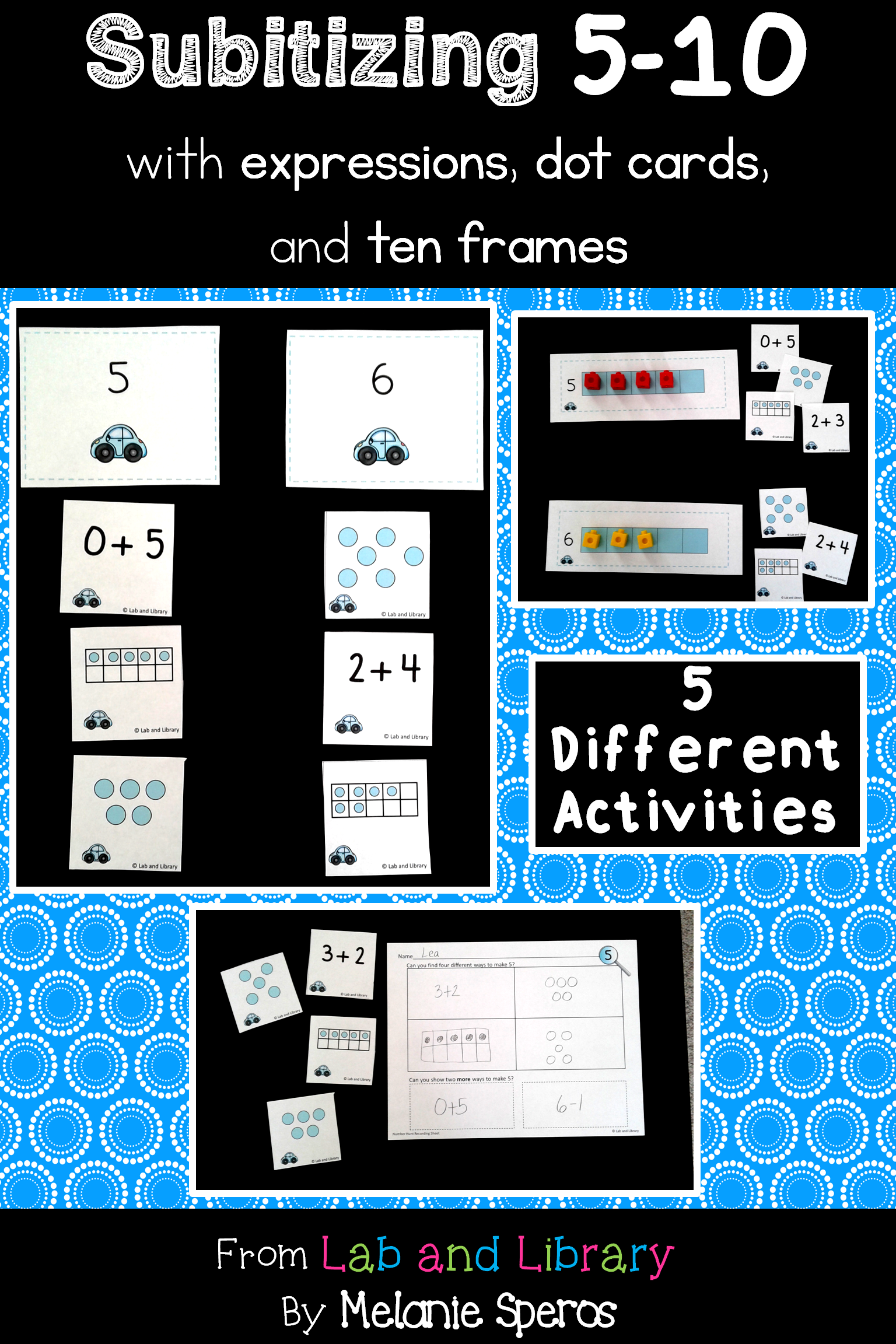 Building Number Sense In Kindergarten Fun And Games With