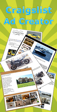 Craigslist Ad Template Creator Free Professional Looking Ad - Ebay template creator
