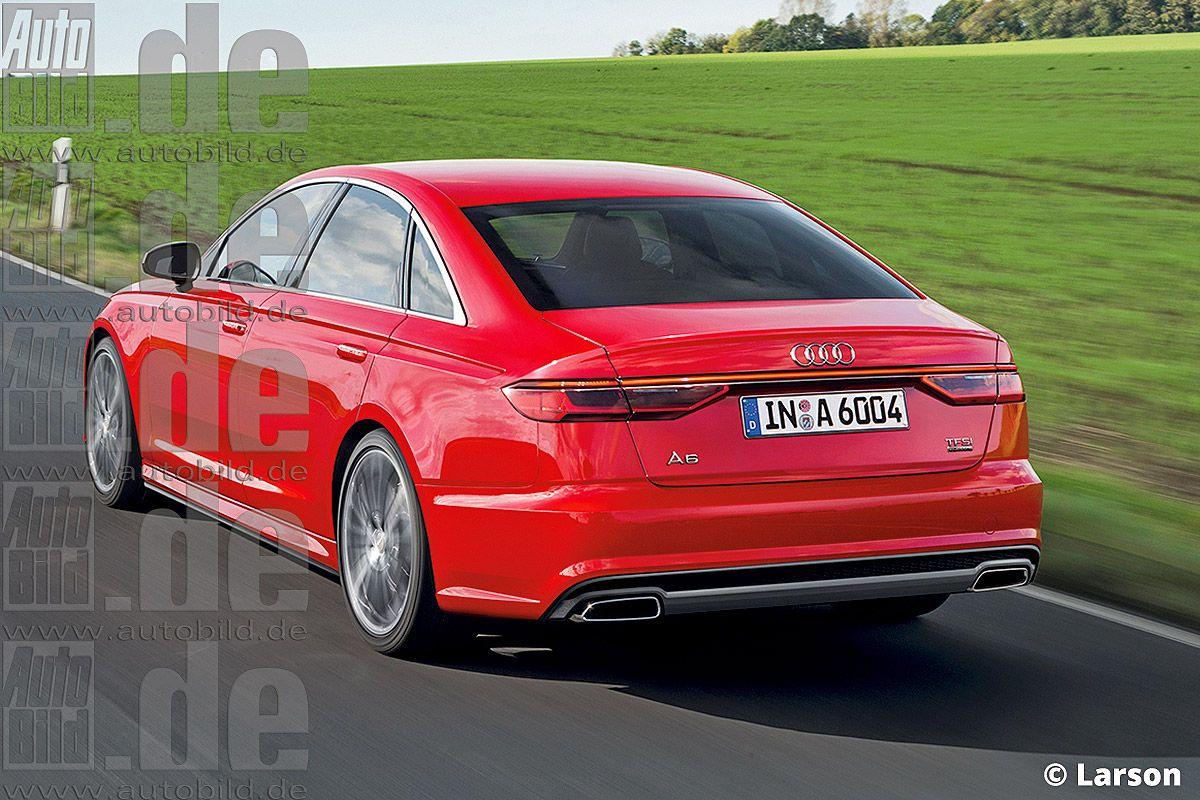 Audi A6 2017 C9 Render 2 Audi Audi A6 S60 Volvo