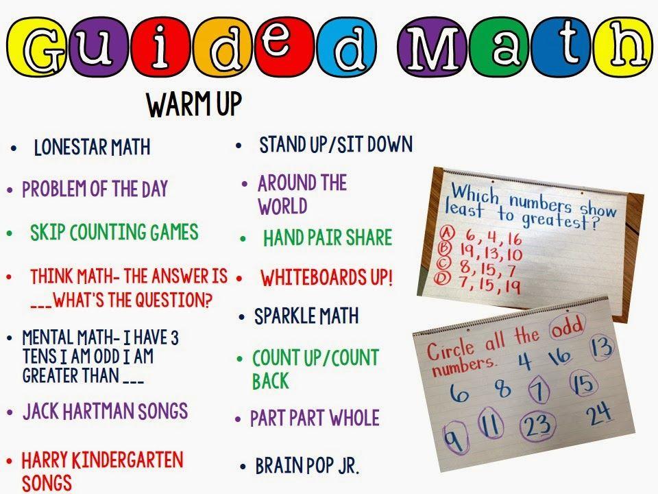 Happy Little Kindergarten: Guided Math Activities (scheduled via ...