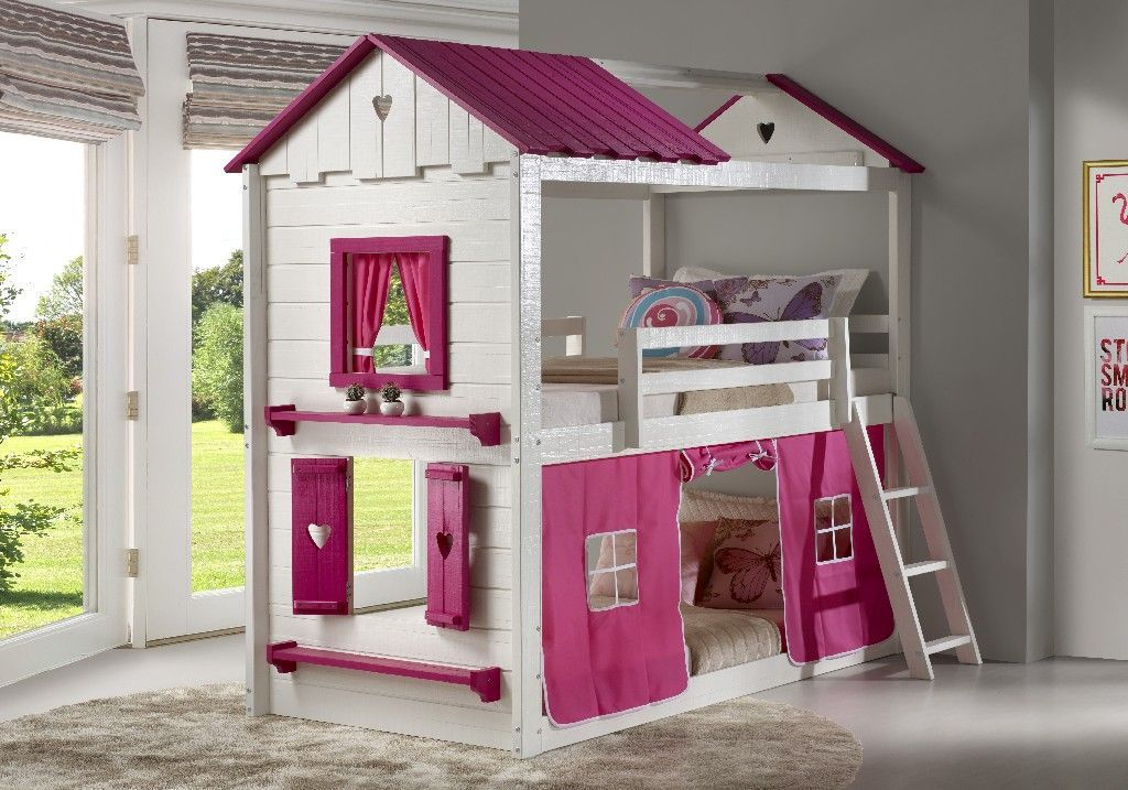 Sweetheart Tent Bunkbed Pink Donco 1570 Ttwp 1575 Tp