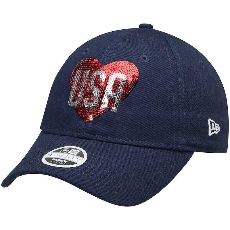 2b071768eaf New Era Women s 2018 Ryder Cup Heart 9TWENTY Adjustable Hat – Navy ...