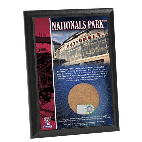 Nationals Park 4x6 Dirt Plaque