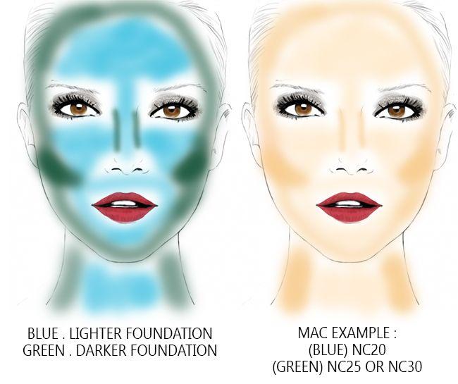How to contour your face the Korean way (no bronzer ...