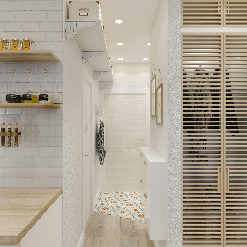 Как разместить кухню, спальню и гостиную на 37 квадратах ...