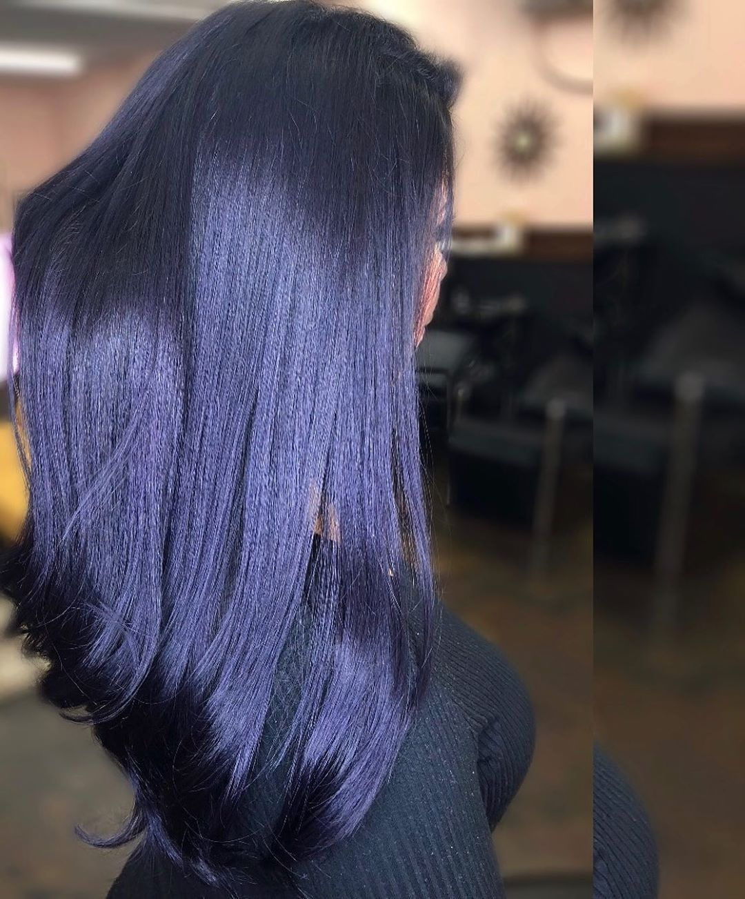 123 Likes 8 Comments Lucero Esquivias Ohlucyy On Instagram Blue Violet Hair And Hands Lol Cropped Those Ou In 2020 Dark Violet Hair Dyed Hair Blue Violet Hair
