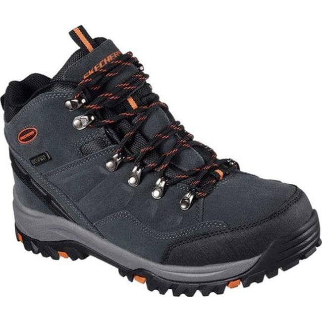 dd901ca16e55 Skechers Men s Relaxed Fit Relment Pelmo Hiking Boot Gray (US Men s 11.5  (Mns 11.5) M (Medium)) (suede)