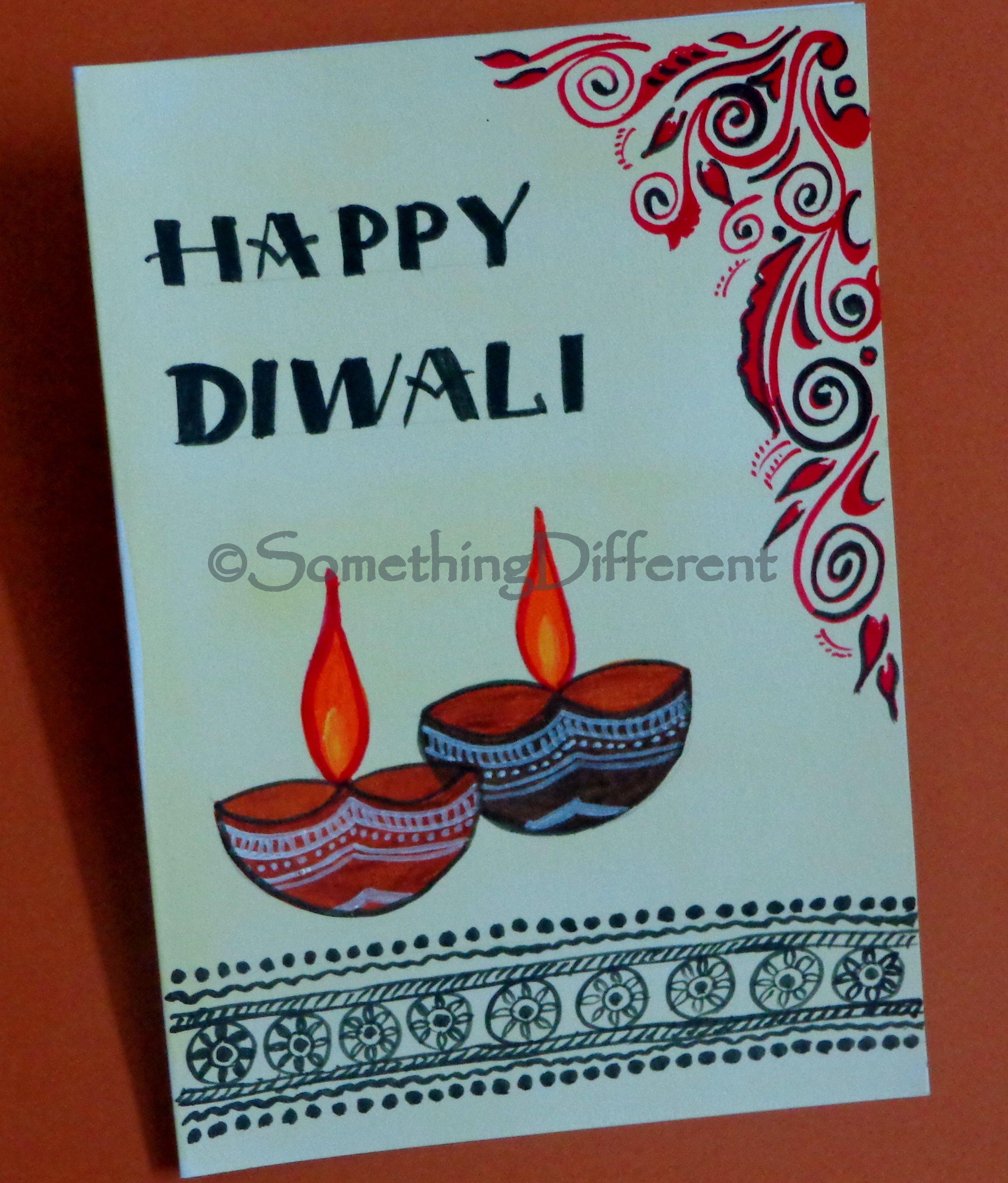 Diwali Greeting Card Handmade Diwali Greeting Cards Diwali Greeting Cards Diwali Cards
