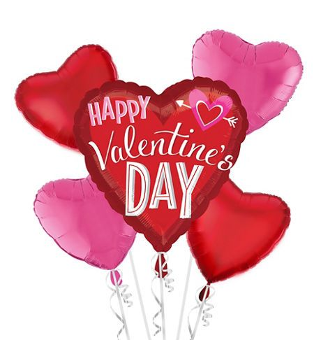 valentine's day balloons - heart balloon bouquets - party city, Ideas