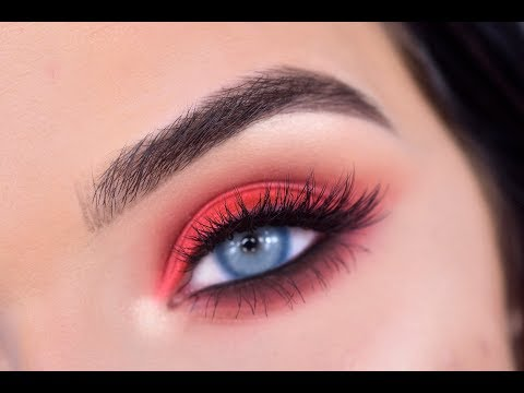 Photo of Morphe 39A Dare to Create | Red Eye Makeup Tutorial