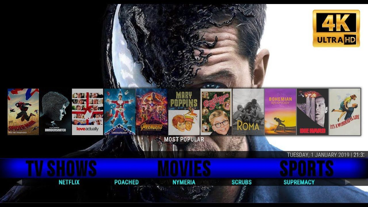 BEST KODI 17 6 BUILD JANUARY 2019 🔥 KRYPTON SILVO BUILD