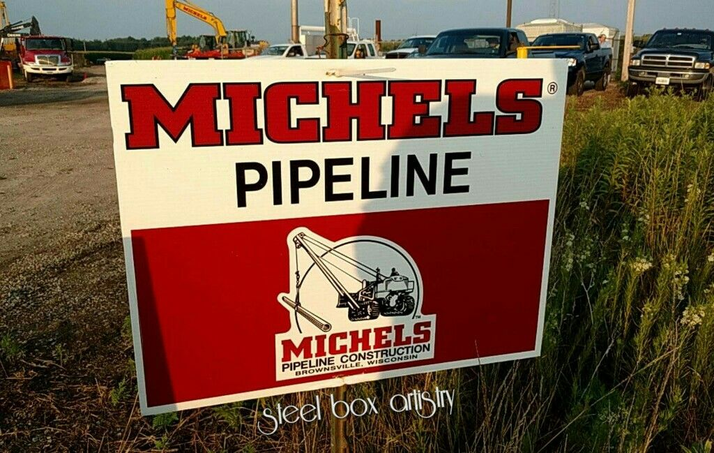 Just a Michel's sign. Streator IL, pipeliner life SRB