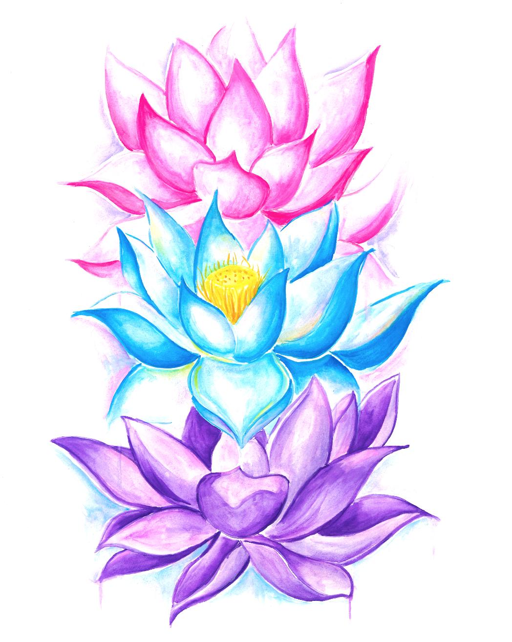 Lotus Flowers Pullover Hoodie Tattoo Pinterest Tatuajes Flor