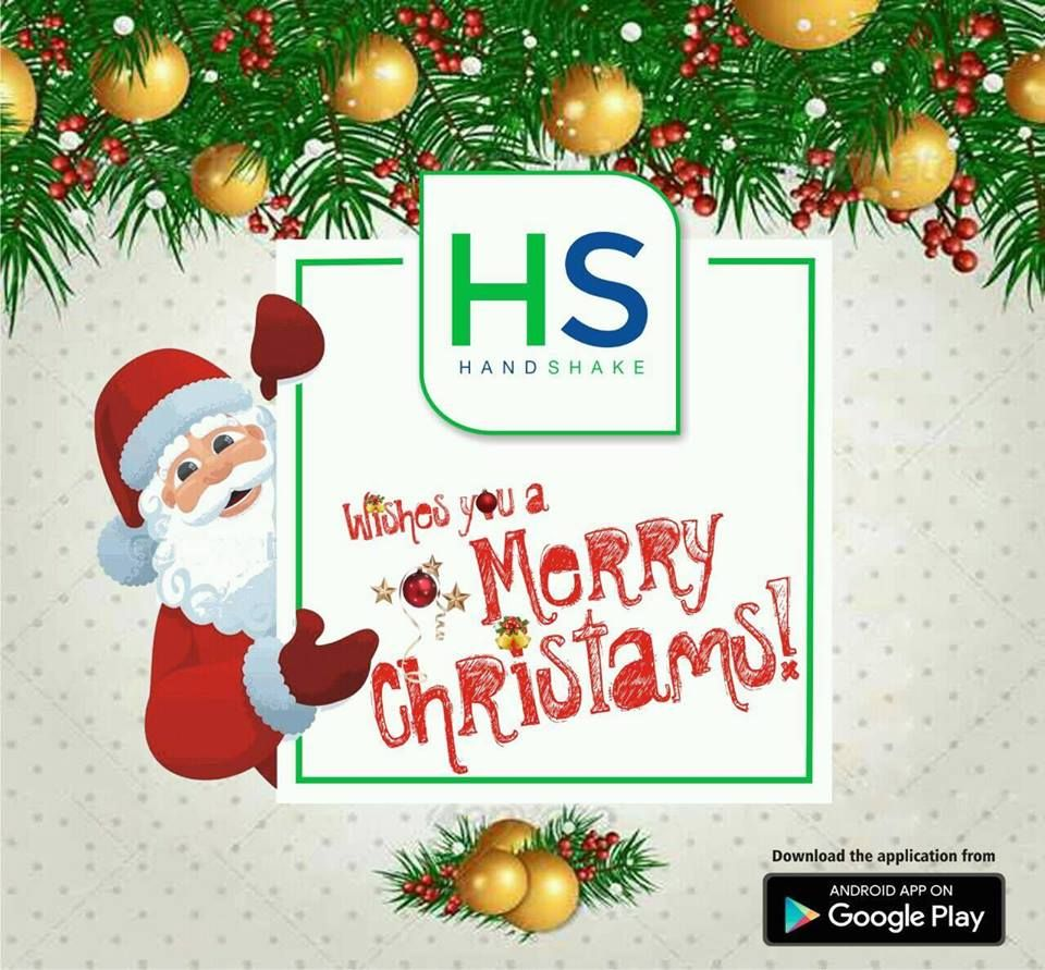 Wish you merry christmas prepare and share smart digital visiting prepare and share smart digital visiting cards download the app now kristyandbryce Choice Image
