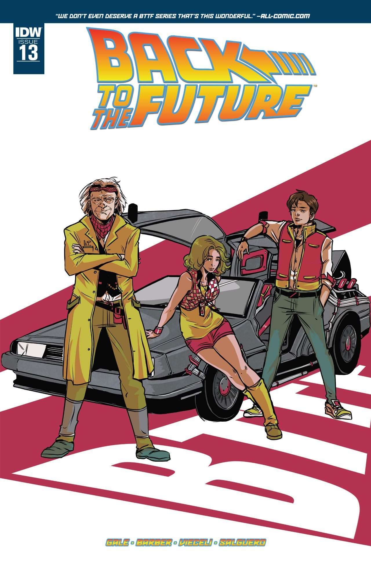 Back to the Future #13 #IDW @idwpublishing #BackToTheFuture Release Date: 10/19/2016