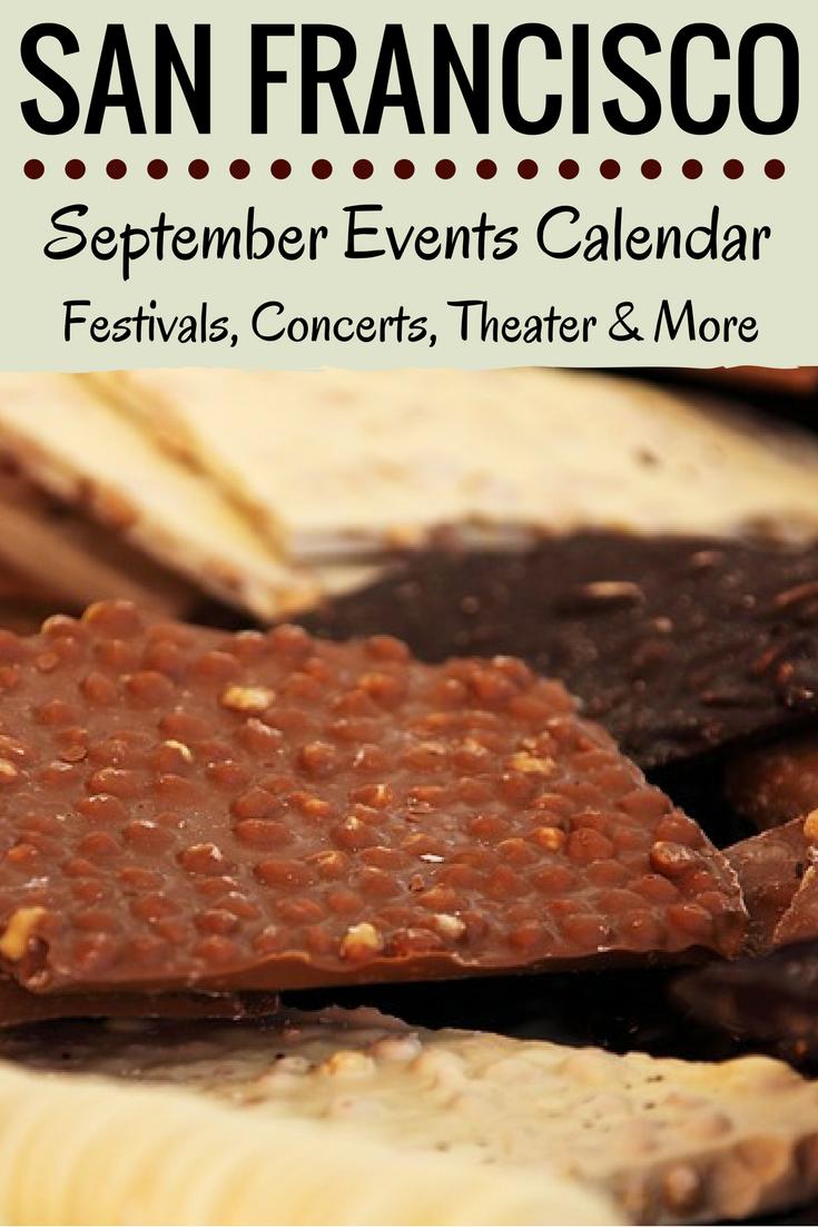 San Francisco Events Calendar 2019 San Francisco Events in September: 2019 Calendar | San Francisco