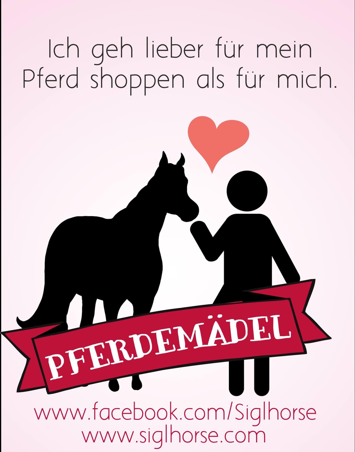 ich geh lieber f r mein pferd shoppen als f r mich. Black Bedroom Furniture Sets. Home Design Ideas