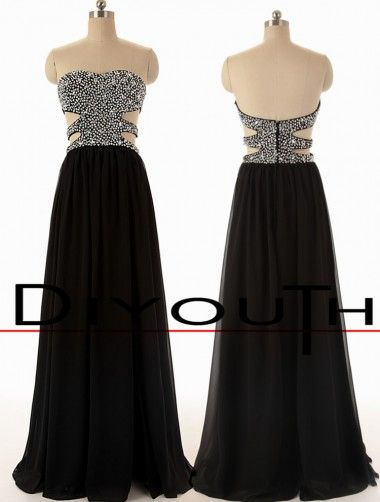Long Black Dresses 2015