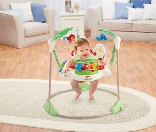 Fisher Price Rainforest Jumperoo Baby Rotating Seat Spinning Jumping Safety Toys Fisher Price Rainforest Jumperoo Fisher Price Jumperoo Jumperoo