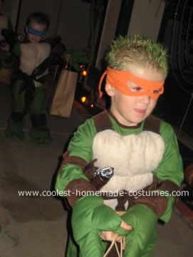 Coolest ninja turtles costumes pinterest turtle costumes boy ninja turtle costume and homemade solutioingenieria Image collections