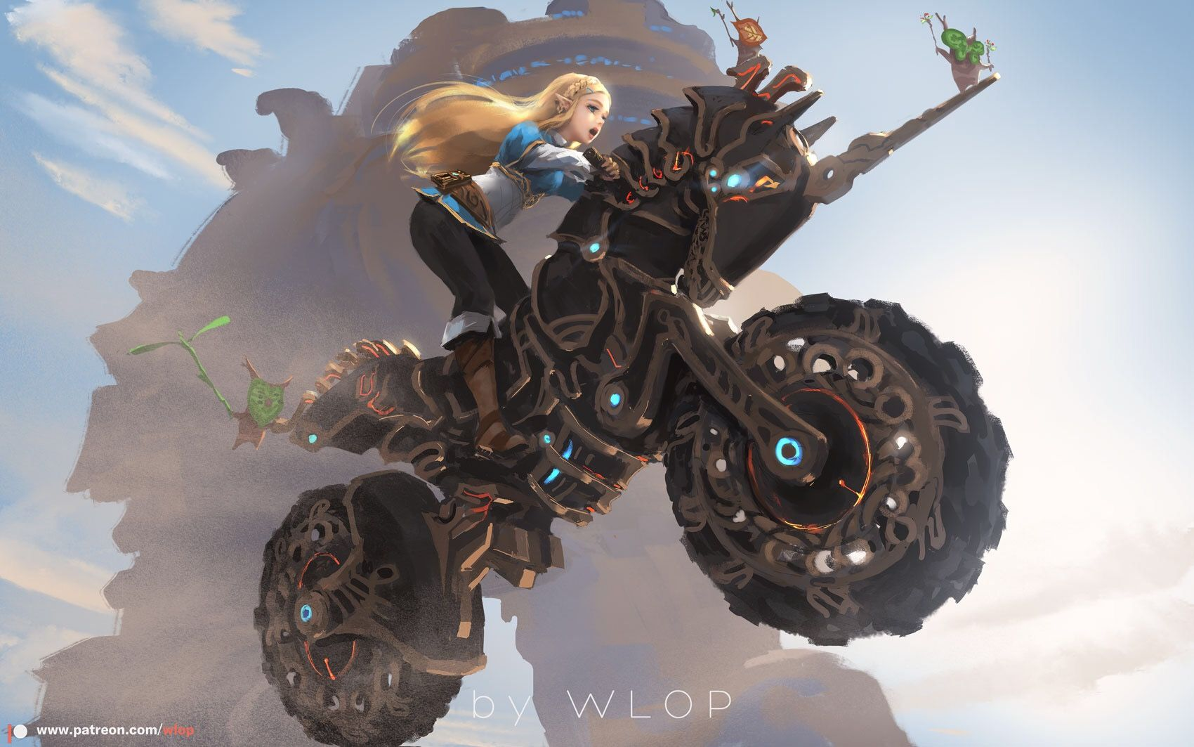 Zelda Breath Of The Wild Master Cycle: The Legend Of Zelda: Breath Of The