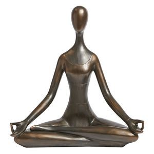 Modern Yoga Woman