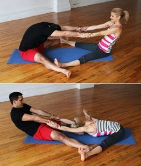 7 easy yoga poses for two people  find out in this