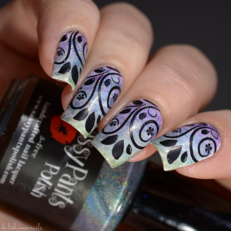 Sassy Pants Woodland Spring Collection | Fan brush nails, Fan brush ...