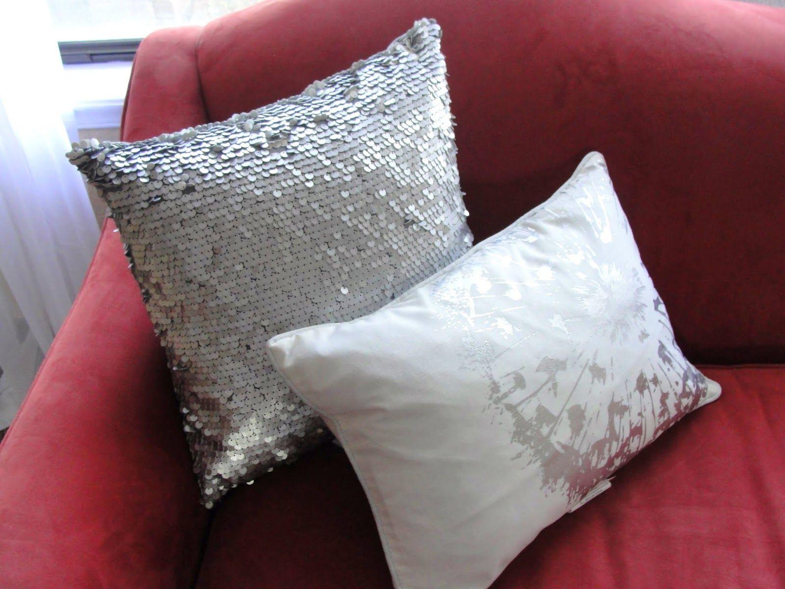 Diy duet: friday favorites 5 2 14 homegoods metallic pillows