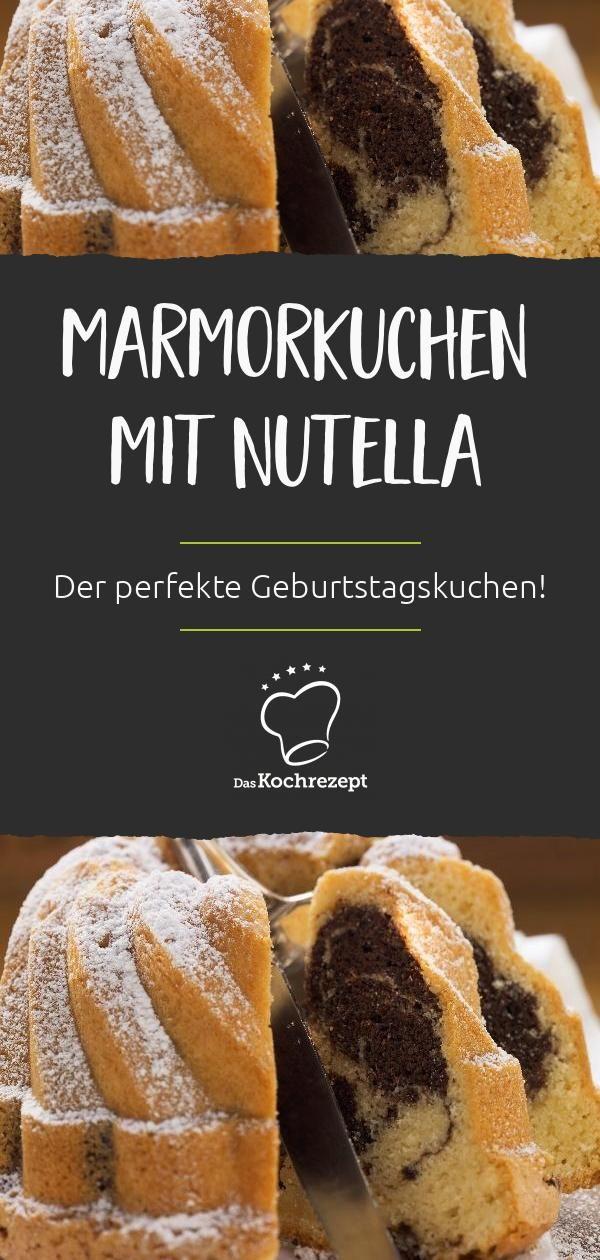 Leckerer Marmorkuchen mit Nutella