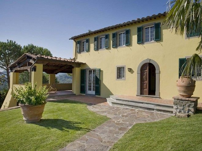 Location Maison En Toscane, Villa Avec Piscine Privée à Lucques, Province  De Lucques, Référence Arecale