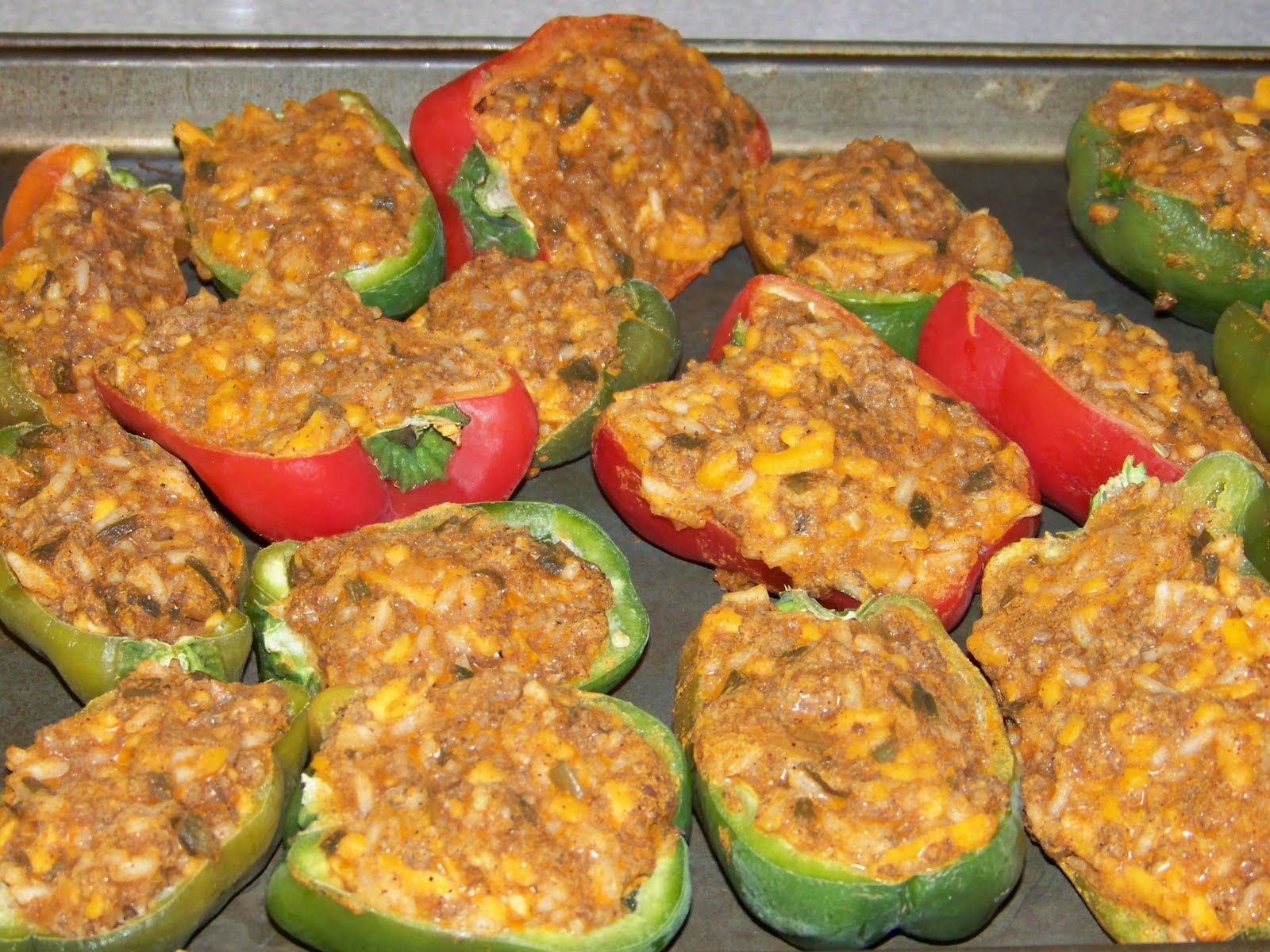 Hickery Holler Farm: Freezing Stuffed Peppers