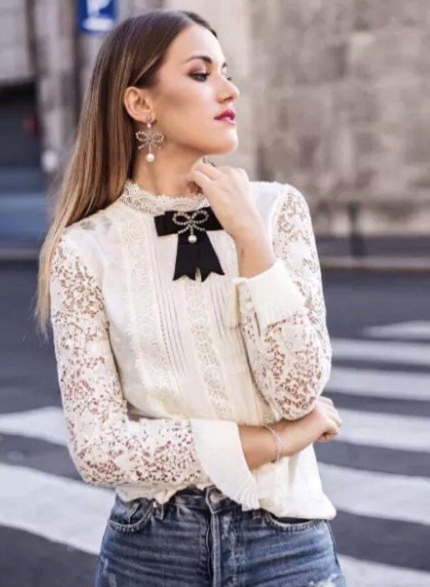Erdem X H&M Grosgrain bow brooch | eBay | Moda damska, Moda