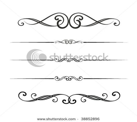 graphic design elements by Attsetski, via ShutterStock | Art Deco ...