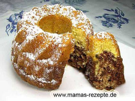 Kleiner Marmorkuchen #peachcobblercheesecake