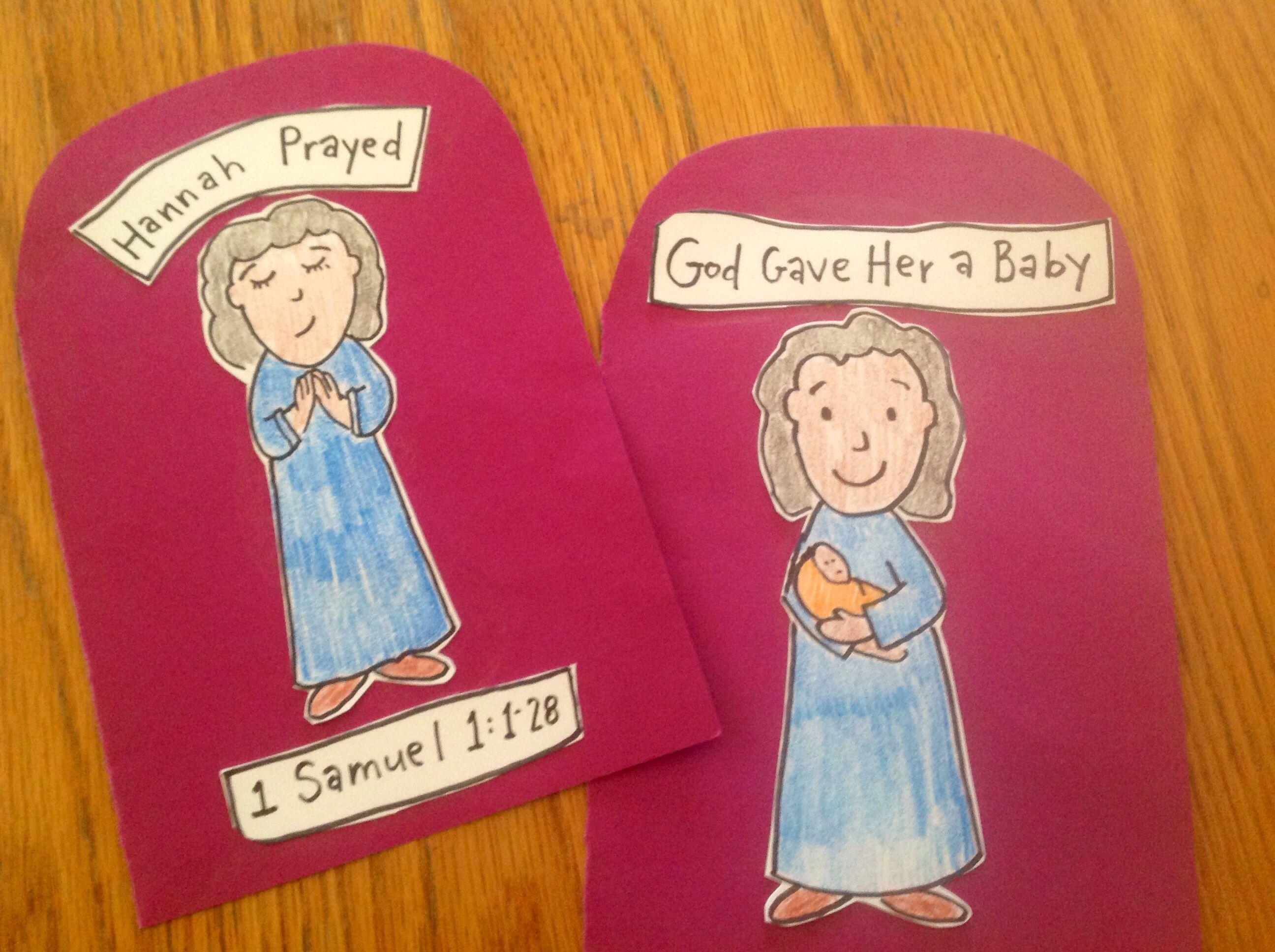 E280: Hannah prayed for a baby. 1 Samuel 1:1-20 | E280\'s Crafts ...