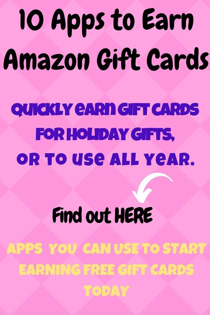 How to earn amazon gift cards for free with apps amazon
