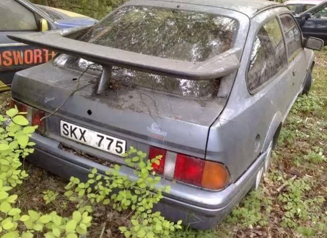 A Ford Sierra Cosworth Graveyard In Sweden Ford Sierra