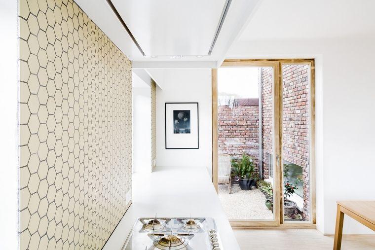 Hexagon Tegels Wit : Gele hex tegels voor de keuken ideeboek huis