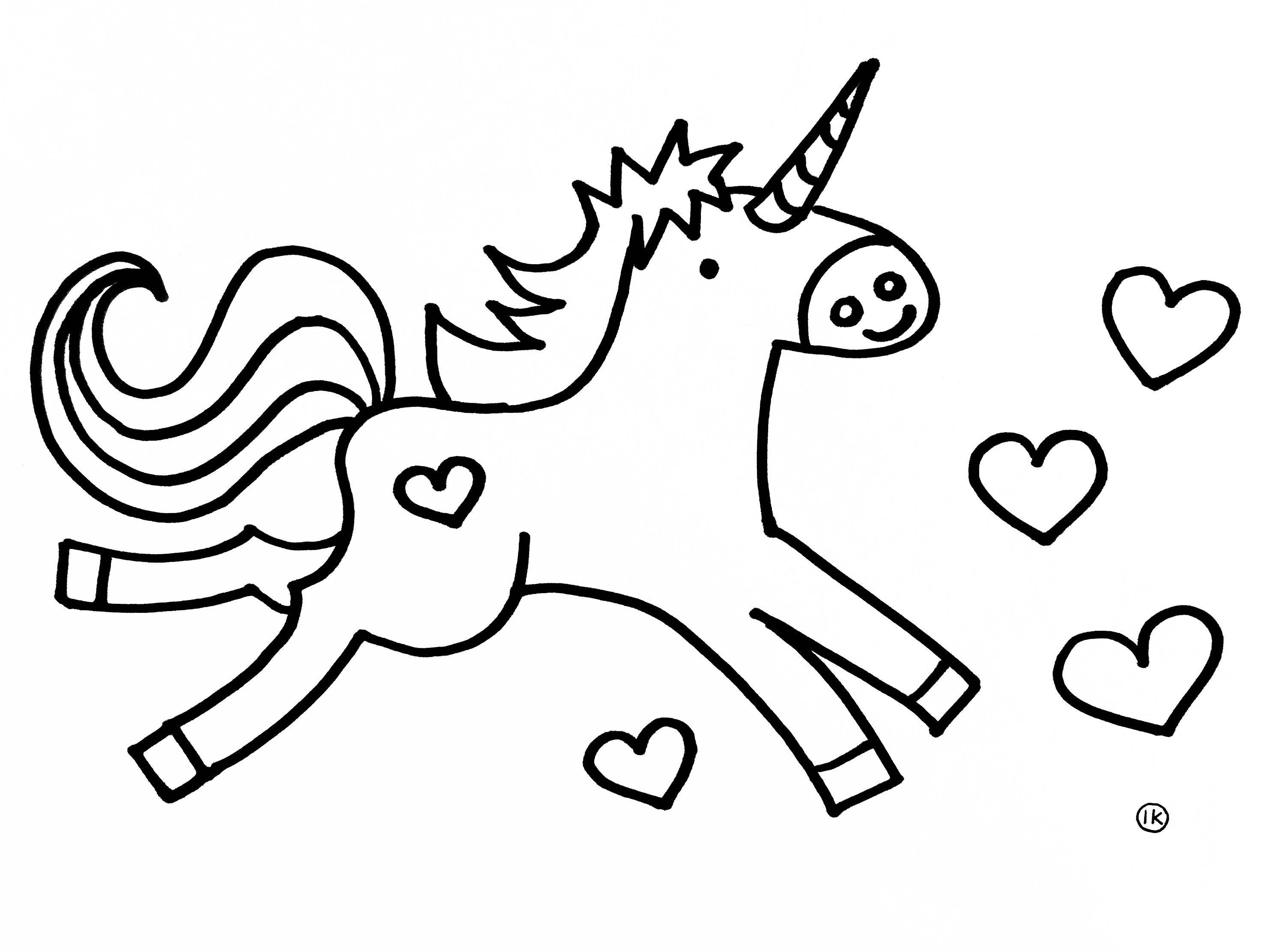 Eenhoorn Unicorns Kleurplaten Kleurplaat Kleurplaten