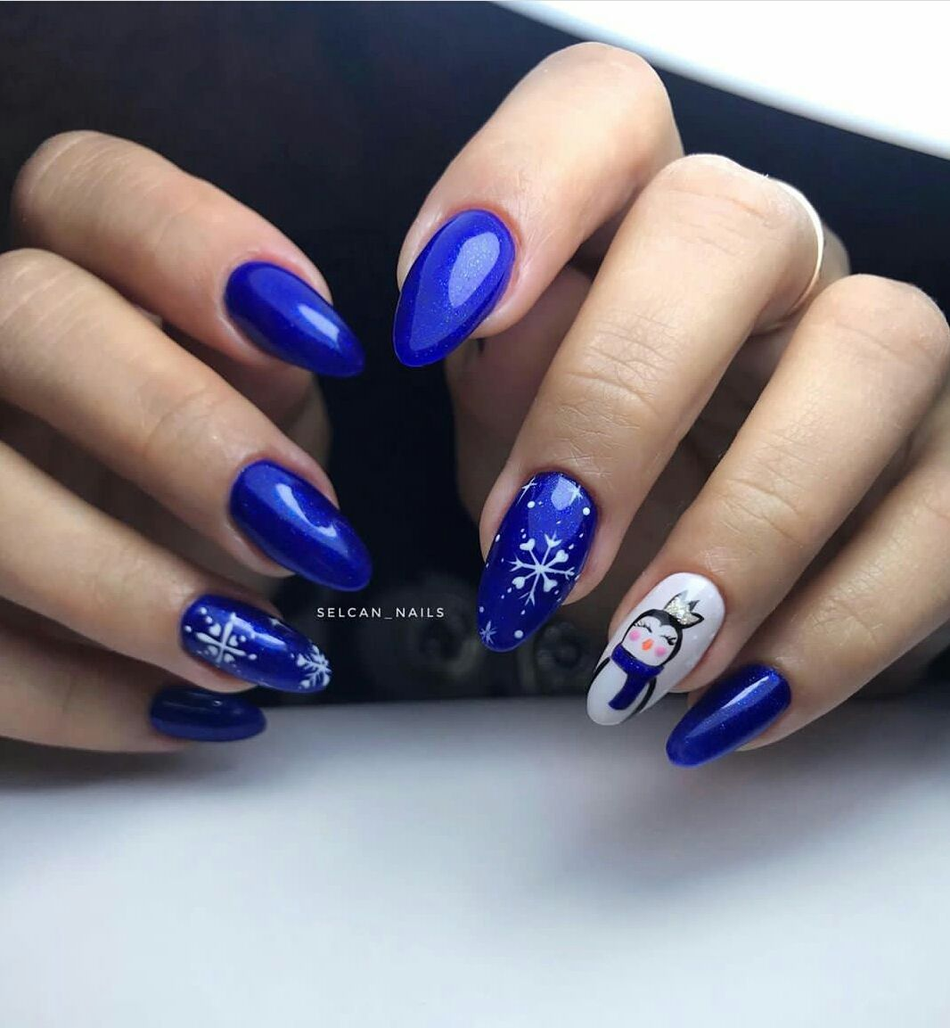 New Years Nails Design Ideas in 2020 New years nail
