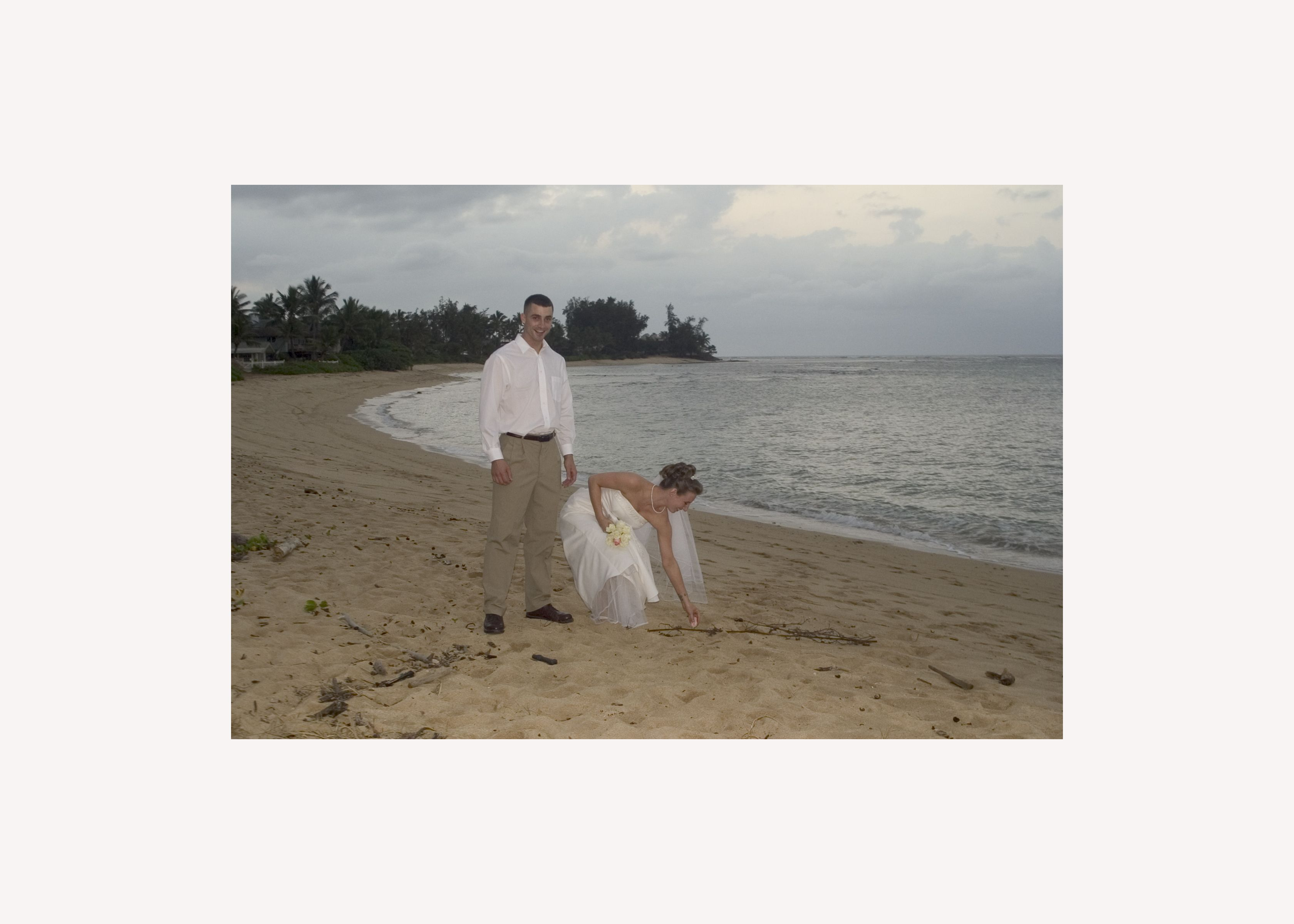 Everyone does an Hawaiian wedding... they don't? Wedding Photography by James N. Gillan