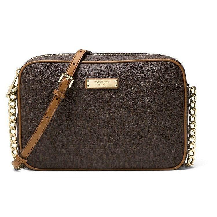 aa140c32487986 Michael Kors Signature Jet Set East/West Crossbody Bag, Women's ...