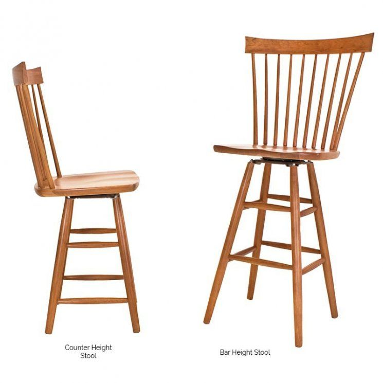Country Windsor Counter/Bar Stool In 2019