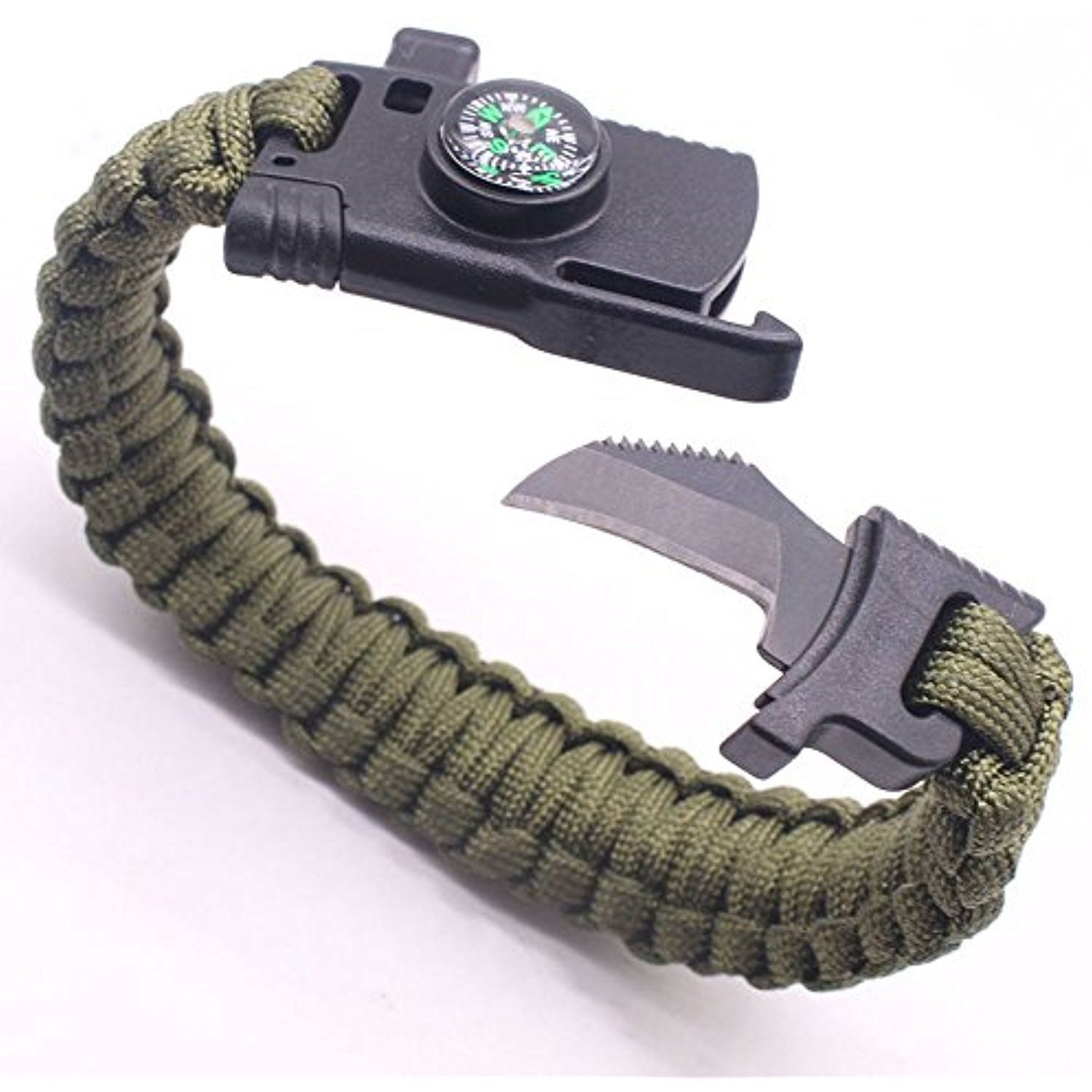 Military Outdoor Paracord Survival Bracelet Parachute Rope