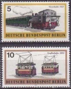 1971 Berlin, West Mi.379-384 Locomotives